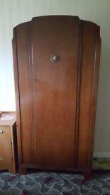 retro vintage wardrobe
