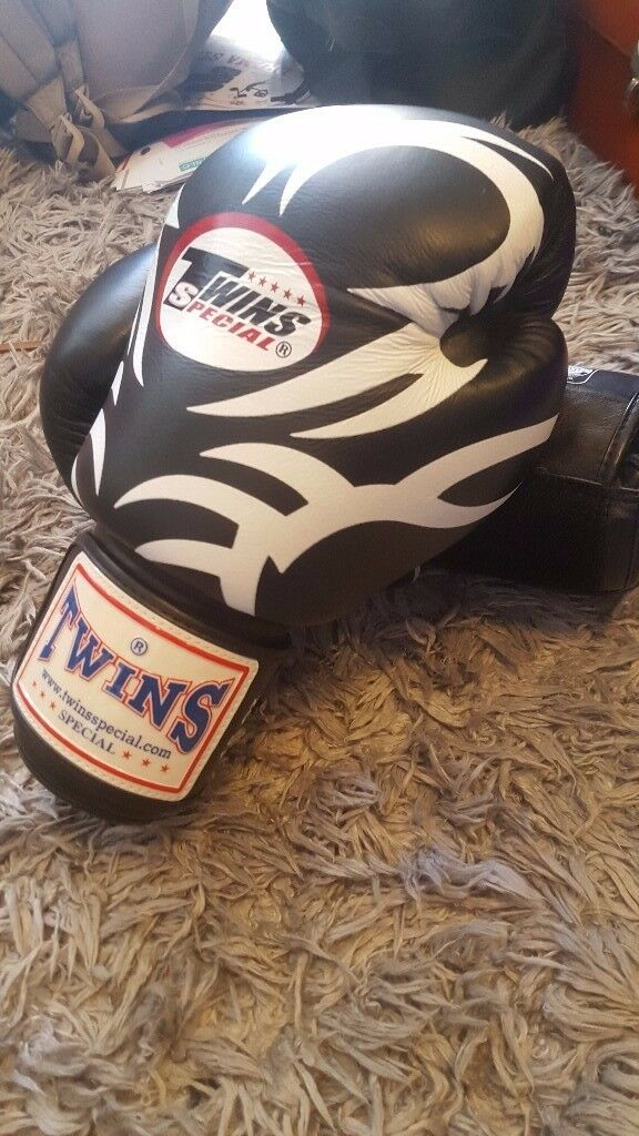 Twins Tribal Muay Thai Boxing Gloves