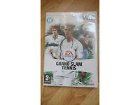 EA Sports Grand Slam Tennis game for Nintendo Wii