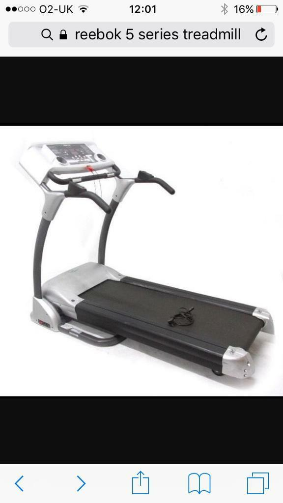 Reebok 5 series treadmill