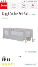 Double bed guard
