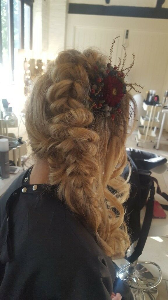 Wedding Special Occasion Hair By The Bridal And Make Up Boutique