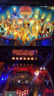 Dr Who Pinball Machine (Bally) - Full LED's Many Extras Collector