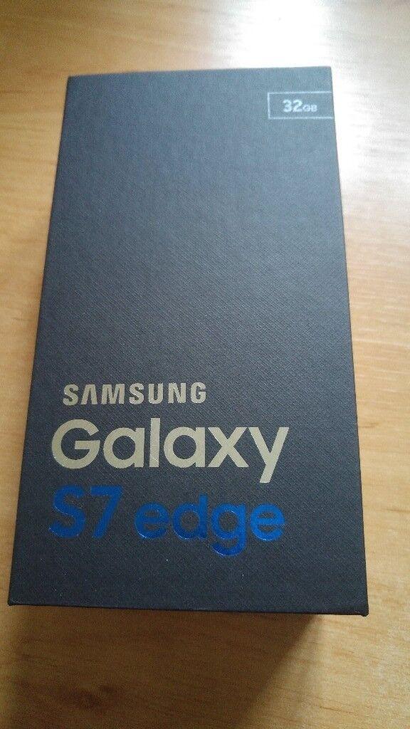 Samsung S7 Edge Black 32gig