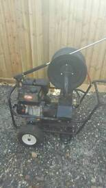 Prtable drain jetter and pressure washer