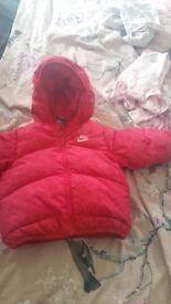 Nike girls coats
