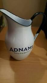 Enamel Adnams Jug