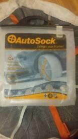 Auto snow sock