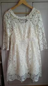 Size 14 monsoon lace dress