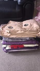 Bundle of 7 sets of curtains £6each
