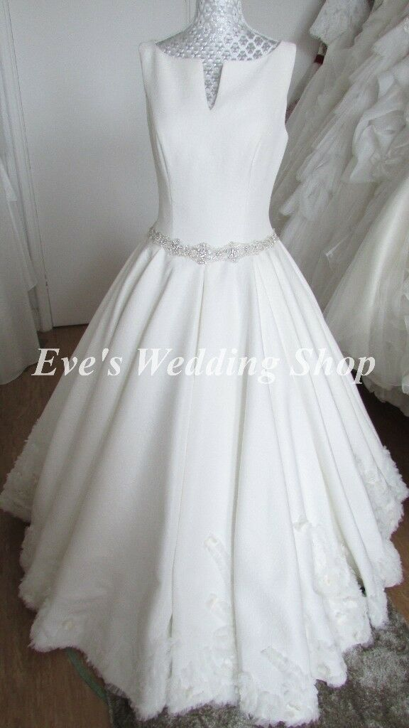 Designer Winter Wedding Dress Uk 12 14 In South Elmsall West