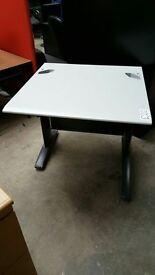 Small Grey Office Desk