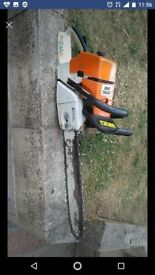 Stihl chainsaw 046