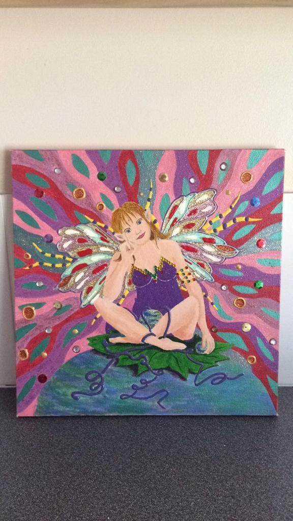 Original acrylic paintingsin Lowestoft, SuffolkGumtree - Original acrylic paintingsFairy, parrot or sceneExcellent conditionCollection best Postage extra Price each