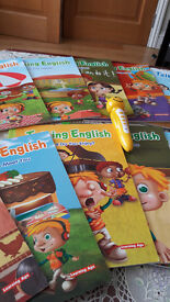 Learn English the fun way with these innovative books and accompanying reading pen