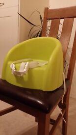 Booster chair baby feeding
