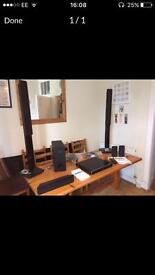 Philips DVD home theatre system HTS3366