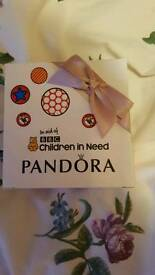 Pandora Pudsey Bear limited edition charm new boxed