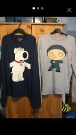 Family guy jumpers size medium