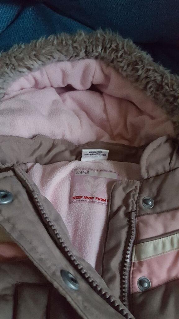 baby winter jackets 6-9 months