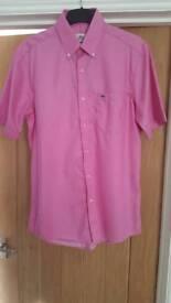 Lacoste short sleeve shirt size 40