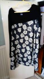 Beth Ditto Swing dress tunic size 28