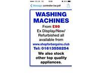 Best refurbished washing machines from £99