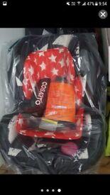 Cosatto car seat group 123 brand new