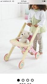 Wooden Push Chair