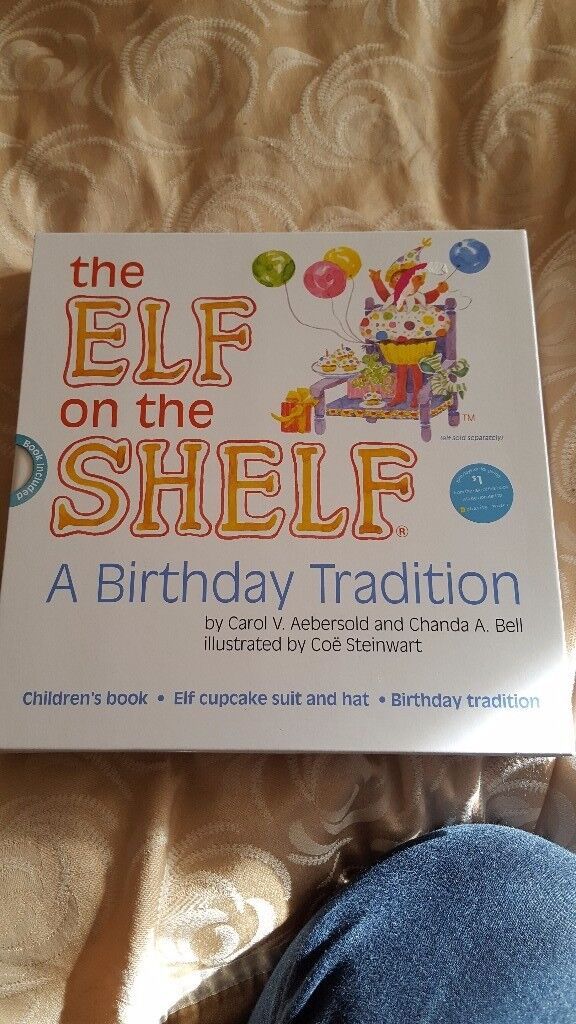 Elf on the shelf birthday edition