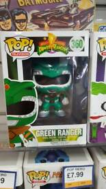 Green power ranger pop