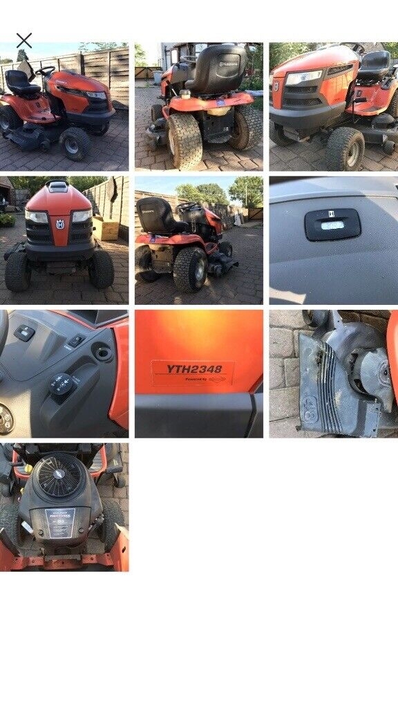 Husqvarna ride on mower with BRAND NEW ENGINE | in Audlem, Cheshire |  Gumtree