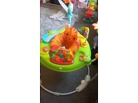 Rainforest jumperoo - mint condition