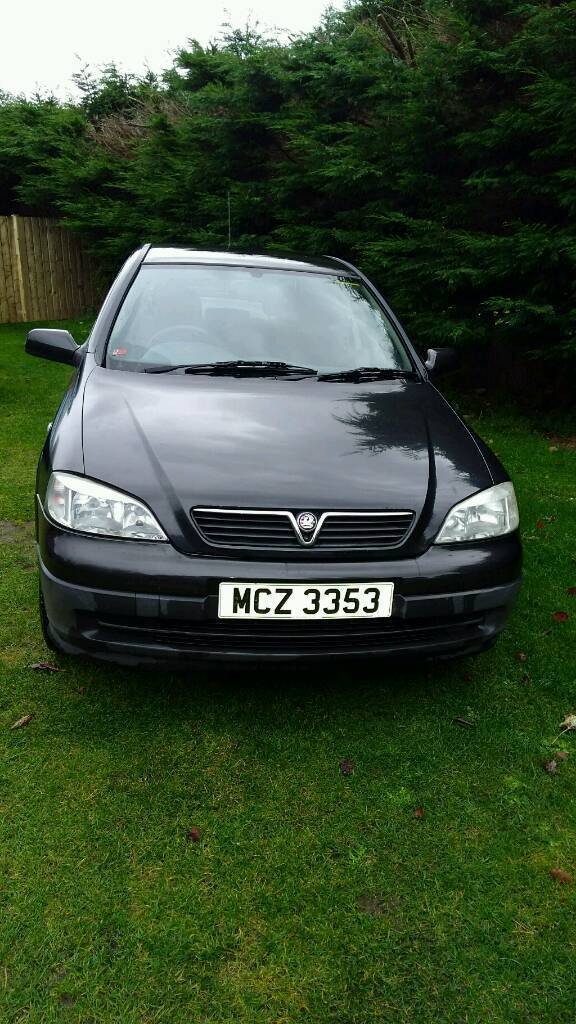 2002 Vauxhall Astra 1600 petrol one year mot good condition £400