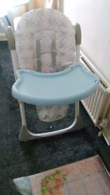 kids high chair for sale
