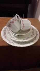 Beautiful vintage tea set for two