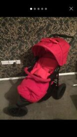 Mothercare Xtreme travel system Red