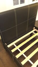 Single Bed Frame with Mattress