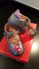 AGATHA RUIZ DE LA PRADA - TODDLER GIRLS SHOES SIZE 5 ***BRAND NEW/WITH TAGS & BOX***