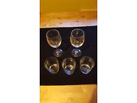 Set of glasses x5. Bargain £1 for lot!!