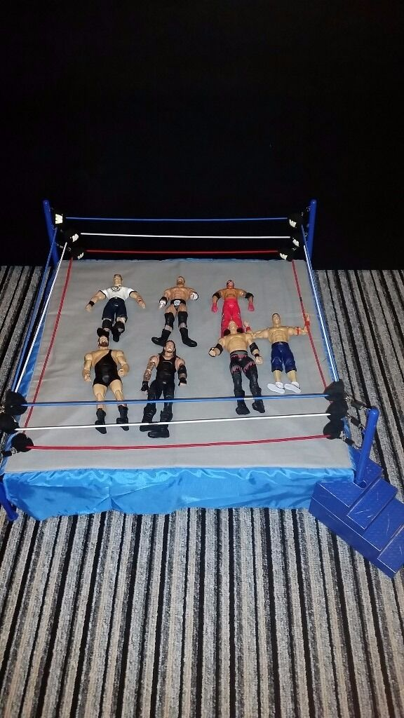 Www Wrestling Ring & Figures