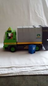 PLAYMOBIL RECYCLING/RUBBISH TRUCK 3121