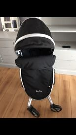 Silver cross surf 2 pushchair and carry cot