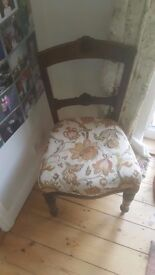 Antique edwardian chair