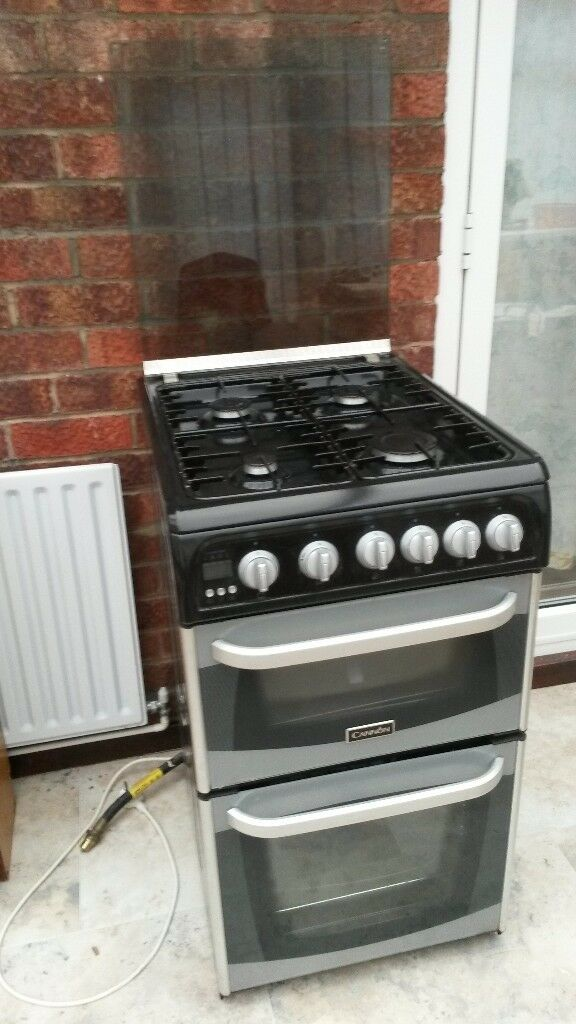 Canon Coniston Double Oven Gas Cooker. C50GCS