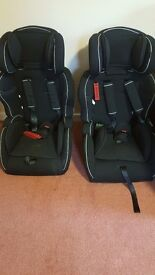 2 mamas&papas group 123 seat fits 9months to appox 12yrs old, £30 each