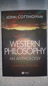 Western Philosophy: An Anthology (2nd edition) (by, John Cottingham)