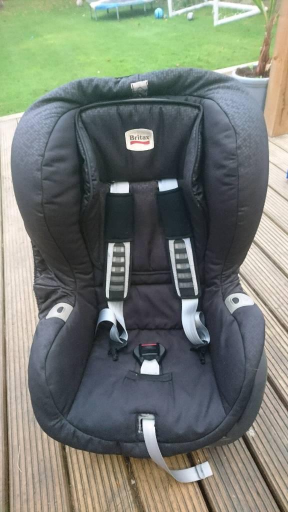 Britax Car Seat Duo Plus Black Thunder