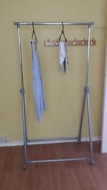 Moveable Clothes racks