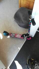 Childs monster high scooter